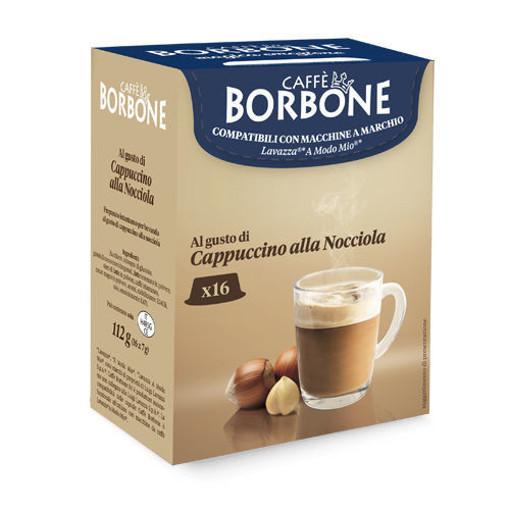 Caffe Borbone Cappuccino alla Nocciola Capsule caffè 16 pz