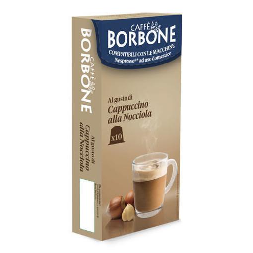 Caffe Borbone Cappuccino alla Nocciola Capsule caffè 10 pz