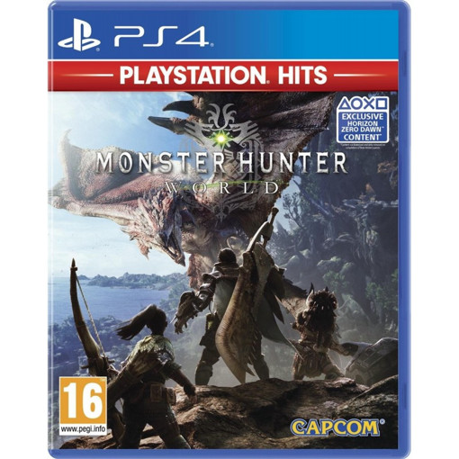 Capcom Monster Hunter World, Playstation Hits Hit per PlayStation Inglese, ITA PlayStation 4