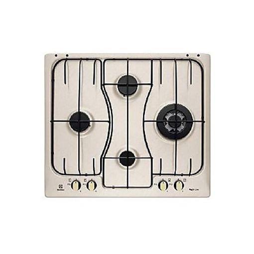 Electrolux RGG 6243 LON piano cottura Sabbia Da incasso Gas 4 Fornello(i)
