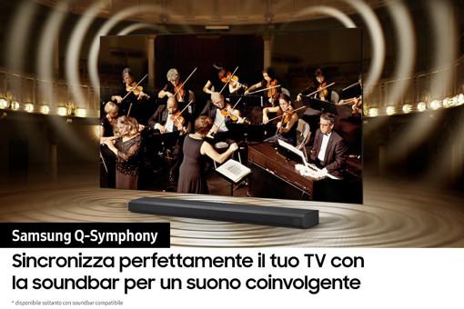 """Samsung Series 9 TV Crystal UHD 4K 50"""" UE50AU9070 Smart TV Wi-Fi Black 2021"""