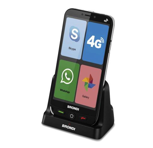 """Brondi Amico Smartphone 4G 12,7 cm (5"""") Doppia SIM Micro-USB 1 GB 8 GB 2200 mAh Nero"""