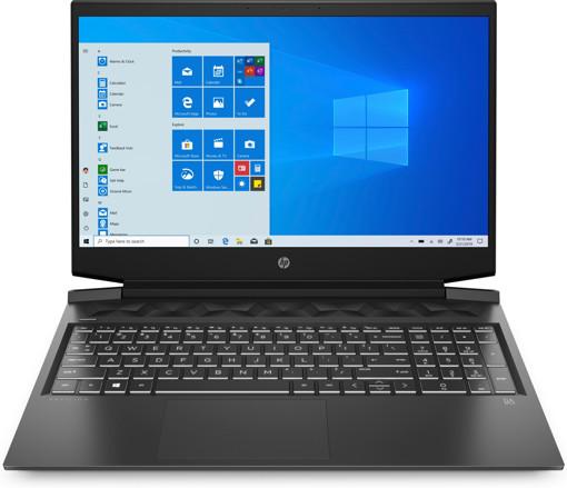 """HP Pavilion Gaming 16-a0021nl DDR4-SDRAM Computer portatile 40,9 cm (16.1"""") 1920 x 1080 Pixel Intel® Core™ i7 di decima generazione 16 GB 512 GB SSD NVIDIA® GeForce® GTX 1650 Ti Wi-Fi 5 (802.11ac) Windows 10 Home Nero"""