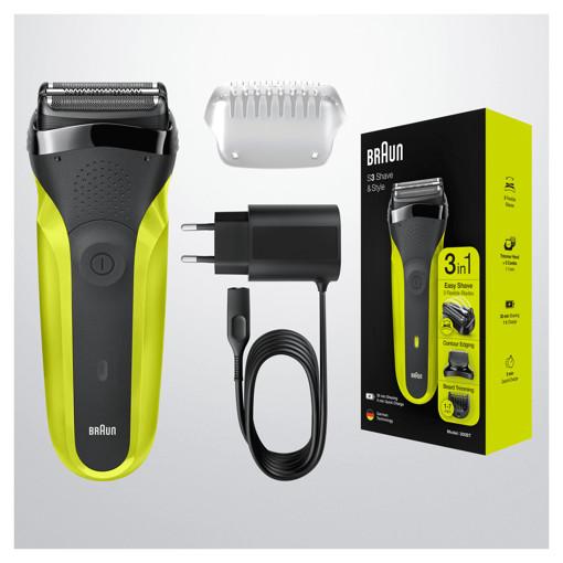 Braun Series 3 Shave&Style 300BT Rasoio Da Barba Elettrico Da Uomo