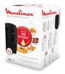 Moulinex EZ3018 Easy Fry Compact Precision, Friggitrice Elettrica, Preparazioni con poco o senza olio, dimensioni ultra-compatte, 6 modalità pre-impostate, Capacità 1,6L, Display Touch screen, Nero