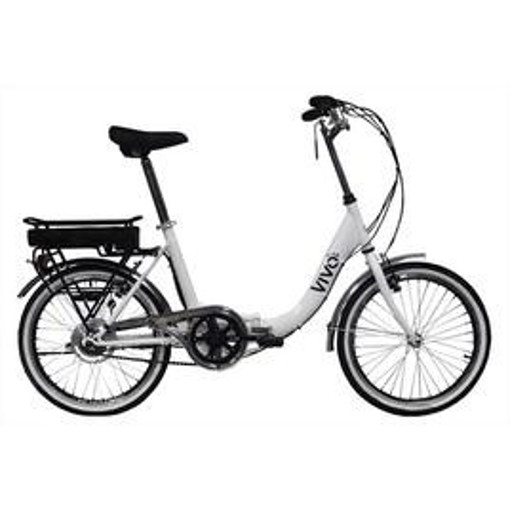 "Vivobike VFO20GRW Bianco Acciaio 50,8 cm (20"") 18,8 kg Litio"