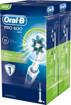 Oral-B PRO 600 Cross Action Adulto BIPACCO 2 Spazzolini - rotante-oscillante Blu, Bianco