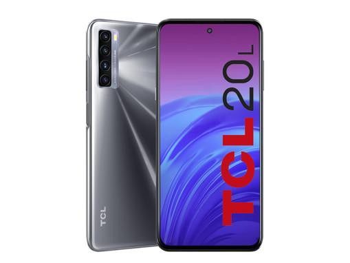"TCL 20L 16,9 cm (6.67"") Dual SIM ibrida Android 11 4G USB tipo-C 4 GB 128 GB 5000 mAh Nero"