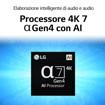"""LG NanoCell NANO86 65NANO866PA 65"""" Smart TV 4K Ultra HD NOVITÀ 2021 Wi-Fi Processore α7 Gen4 AI Picture"""