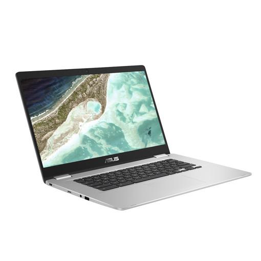 """ASUS Chromebook C523NA-BR0373 LPDDR4-SDRAM 39,6 cm (15.6"""") 1366 x 768 Pixel Intel® Celeron® N 4 GB 64 GB eMMC Wi-Fi 5 (802.11ac) Chrome OS Argento"""