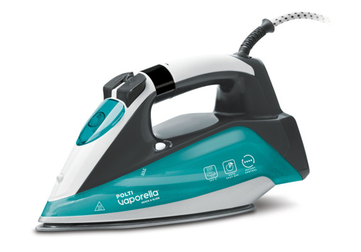Polti Vaporella Quick & Slide QS220 Ferro a vapore Alluminio 2400 W Verde, Bianco