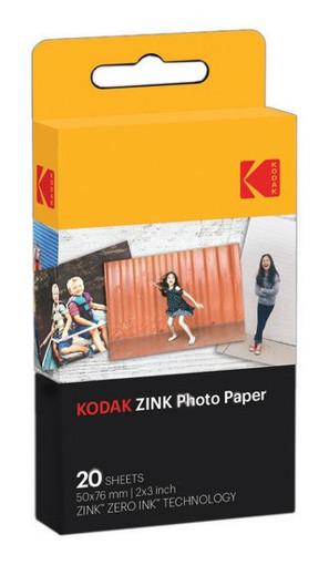 Kodak ZINK Photo Paper pellicola per istantanee 20 pz 50 x 76 mm