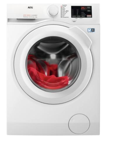 AEG L6FBI845 lavatrice Libera installazione Caricamento frontale 8 kg 1400 Giri/min B Bianco