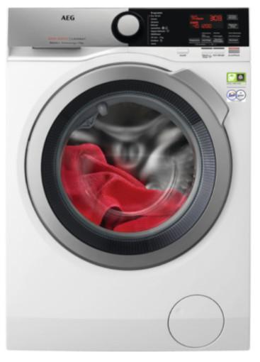 AEG L8FEE94SG lavatrice Libera installazione Caricamento frontale 9 kg 1400 Giri/min A Argento