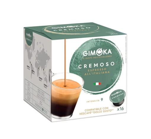 Gimoka Cremoso Capsule caffè 16 pz