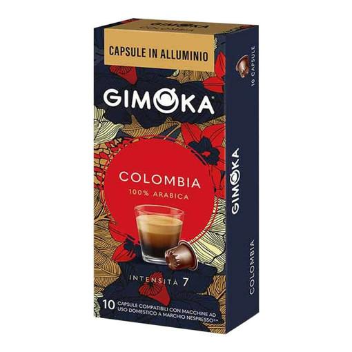 Gimoka In Alluminio Colombia Capsule caffè 10 pz