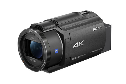 Sony FDR-AX43 – Videocamera Digitale 4K Ultra HD con Sistema di stabilizzazione integrato a cinque assi (Balanced Optical SteadyShot™), Zoom ottico 20x, LCD orientabile, nero