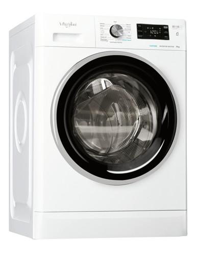 Whirlpool FFB R8529 BSV IT lavatrice Libera installazione Caricamento frontale 9 kg 1200 Giri/min B Bianco