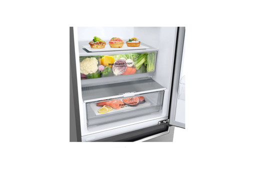 LG GBB61PZGGN frigorifero con congelatore Libera installazione 341 L D Acciaio inossidabile