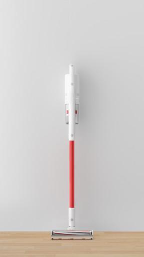 Roidmi X15 Senza sacchetto Rosso, Bianco