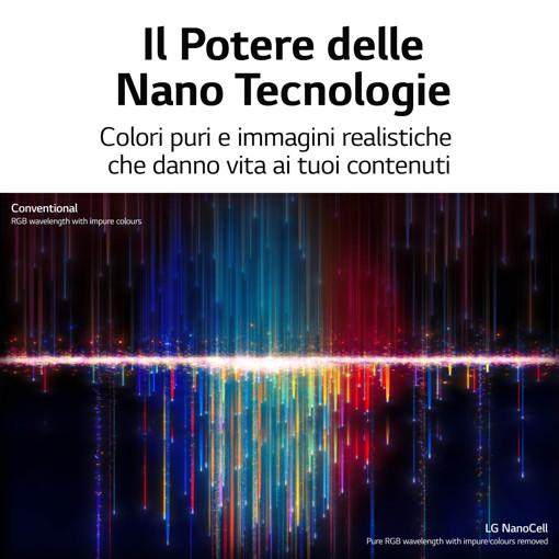 """LG NanoCell 86NANO756PA 86"""" Smart TV 4K Ultra HD NOVITÀ 2021 Wi-Fi Processore α7 Gen4 AI Picture"""