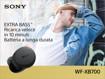 Sony WF-XB700 Cuffie Auricolare Bluetooth Nero