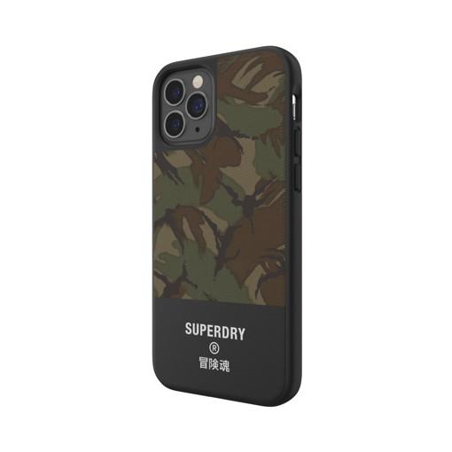"SuperDry 42588 custodia per cellulare 15,5 cm (6.1"") Cover Mimetico, Verde"