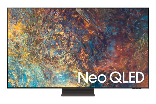 "Samsung TV Neo QLED 4K 55"" QE55QN95A Smart TV Wi-Fi Carbon Silver 2021"