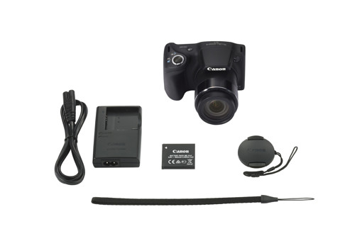 "Canon PowerShot SX430 IS 1/2.3"" Fotocamera Bridge 20,5 MP CCD 5152 x 3864 Pixel Nero"