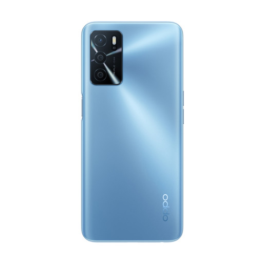 "OPPO A16 Smartphone, AI Triple Camera 13+2+2 MP, 6.52"" 60HZ Display, 5000mAh, SuperVOOC + Power Saving, RAM 4GB + ROM 64GB expandable, ColorOS11.1, IPX4, [Versione Italiana], Pearl Blue"