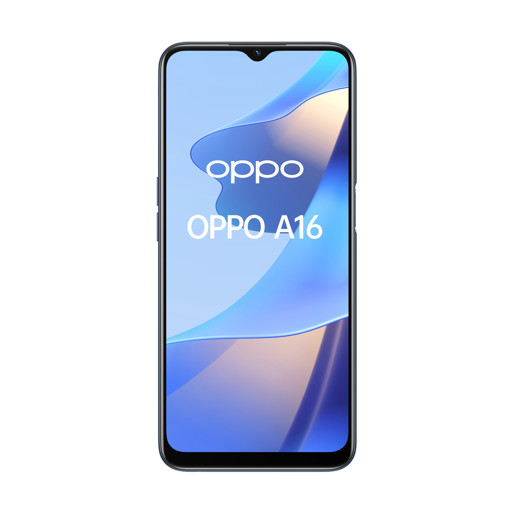 "OPPO A16 Smartphone, AI Triple Camera 13+2+2 MP, 6.52"" 60HZ Display, 5000mAh, SuperVOOC + Power Saving, RAM 4GB + ROM 64GB expandable, ColorOS11.1, IPX4, [Versione Italiana], Crystal Black"