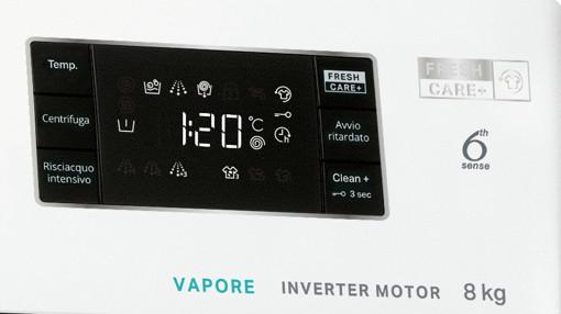 Whirlpool FFB R8528 BV IT lavatrice Libera installazione Caricamento frontale 8 kg 1200 Giri/min B Bianco