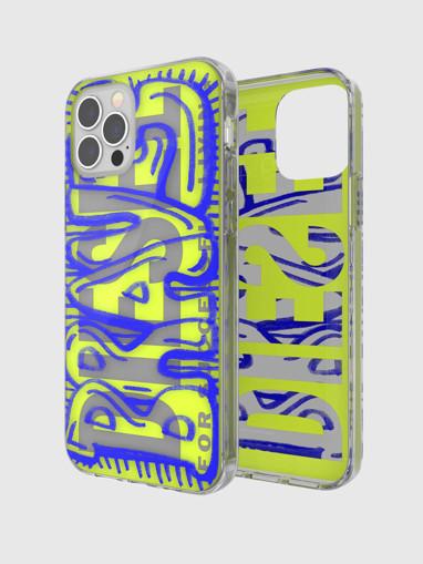 """DIESEL 42564 custodia per cellulare 15,5 cm (6.1"""") Cover Blu, Trasparente, Giallo"""