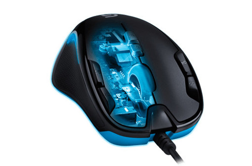 Logitech G300s mouse Mano destra USB tipo A Ottico 2500 DPI