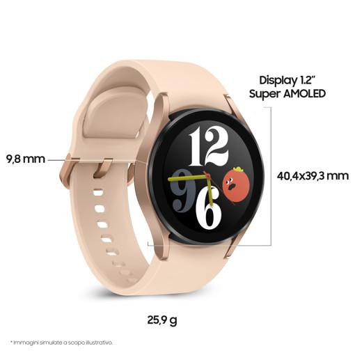"Samsung Galaxy Watch 4 40mm 3,05 cm (1.2"") SAMOLED Oro GPS (satellitare)"