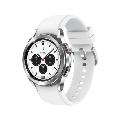 "Samsung Galaxy Watch 4 Classic 42mm 3,05 cm (1.2"") SAMOLED Argento GPS (satellitare)"