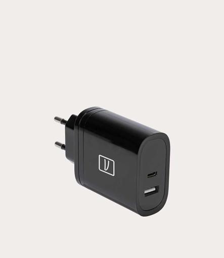 Tucano MA-GAN65-EU-BK Caricabatterie per dispositivi mobili Nero Interno