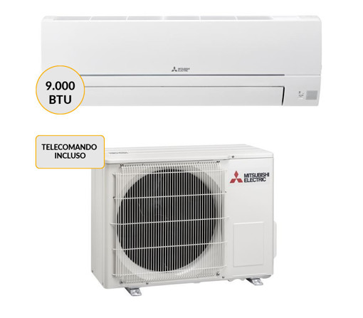 Mitsubishi Electric MSZ-HR25VF + MUZ-HR25VF Condizionatore MONO split system Bianco 9000 btu