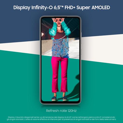 """Samsung Galaxy A52s 5G Display 6.5"""" FHD+ Super AMOLED 128GB Awesome Black"""