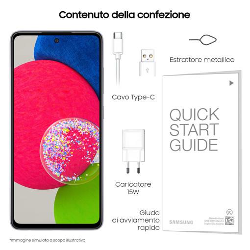 "Samsung Galaxy A52s 5G Display 6.5"" FHD+ Super AMOLED 128GB Awesome Violet"