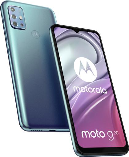 """Motorola Moto G moto g20 16,5 cm (6.5"""") Dual SIM ibrida Android 11 4G USB tipo-C 4 GB 64 GB 5000 mAh Blu"""