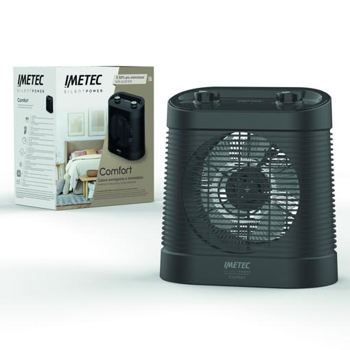 Imetec Silent Power Comfort Interno Nero 2100 W Riscaldatore ambiente elettrico con ventilatore