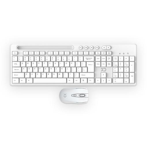 XD XDKB266WHT tastiera RF Wireless QWERTY Bianco