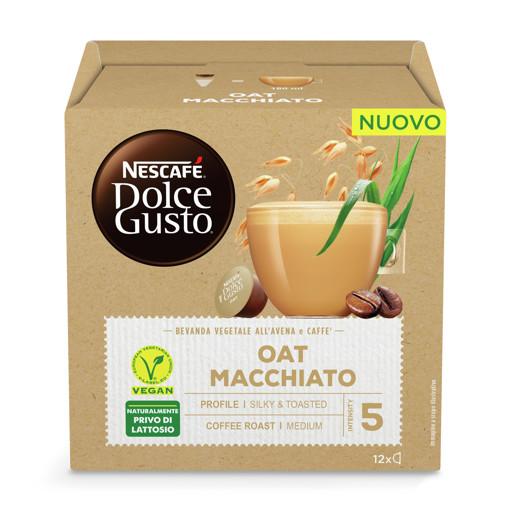 Nescafé Dolce Gusto Oat Macchiato Capsule caffè 12 pz
