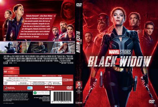 Walt Disney Pictures Black Widow DVD Inglese, ITA, Tedesca