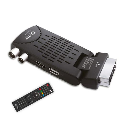 XD XDT599 set-top box TV Terrestre Full HD Nero