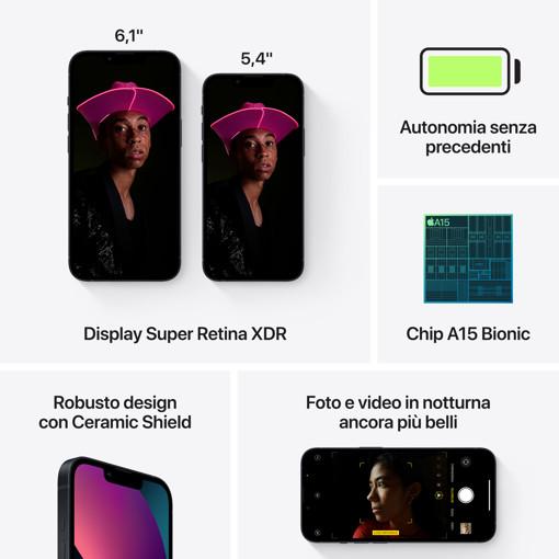 Apple iPhone 13 mini 512GB Mezzanotte