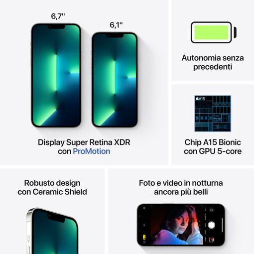 Apple iPhone 13 Pro Max 128GB Argento
