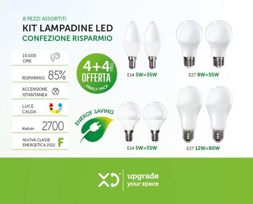 XD XD8LBKIT lampada LED F
