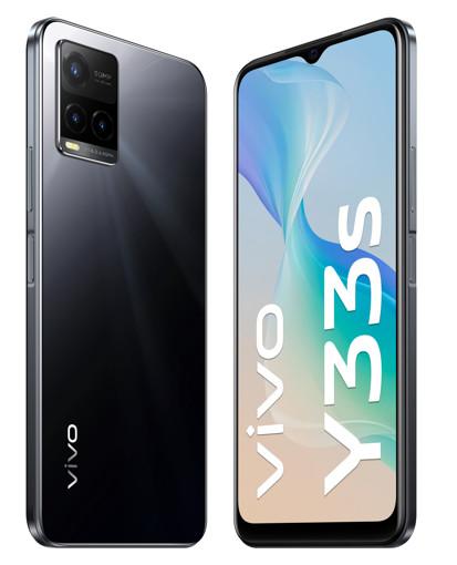 "VIVO Y33s 16,7 cm (6.58"") Doppia SIM Android 11 4G USB tipo-C 8 GB 128 GB 5000 mAh Nero"